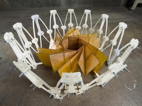 Origami expert, NASA researchers fold solar arrays for space - CNET   Physics   Scoop.it