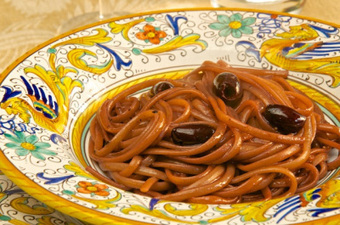 Linguine al vino rosso (Linguini with Red Wine Sauce) | As You Want Dishes | Scoop.it