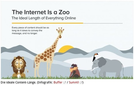 Die ideale Content-Länge | Social Media Superstar | Scoop.it