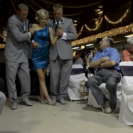 WATCH: Paralyzed teen walks down aisle at sister's wedding - 1230 WBZT | Bridal Fashions | Scoop.it