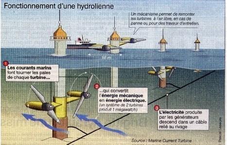 L'énergie hydrolienne   Hydroliennes   Scoop.it
