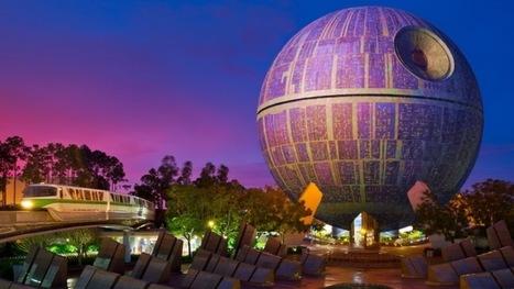 Disney transforme le Spaceship Earth du parc EPCOT en Étoile Noire !   Actualités parcs de loisirs   Scoop.it