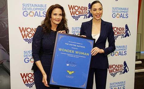 Lynda Carter, Gal Gadot Reflect on 75 Years of Wonder Woman at the U.N. | Fabulous Feminism | Scoop.it