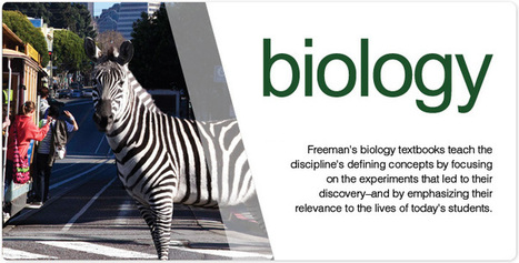 W.H. Freeman Publishers: Biology | Biología y naturaleza | Scoop.it