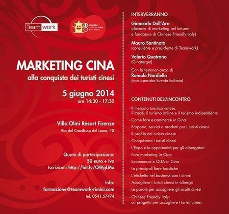 Marketing Cina: alla conquista dei turisti cinesi - Hospitality News | Social Media & E-Commerce in China | Scoop.it