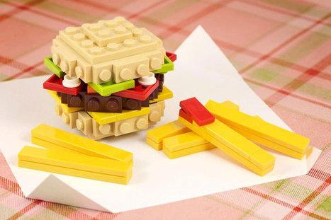 25 plats qui vous mettront l'eau à la bouche mais… qui sont exclusivement faits en LEGO ! | ART's news | Scoop.it