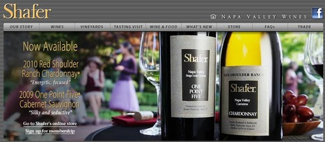 Shafer Vineyards | NAPA traveling | Scoop.it