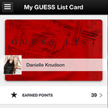Guess bolsters mobile app with loyalty, newsfeed | Mobile apps : news and trends | Scoop.it