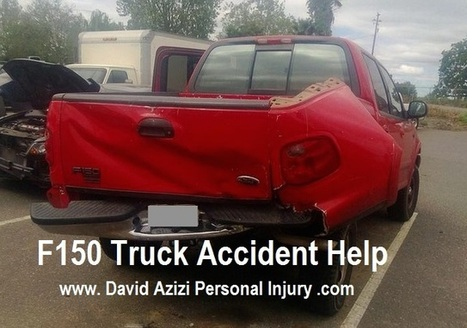 Ford F150 Pickup Truck Rear End Accident Help | David Azizi Personal Injury | Scoop.it