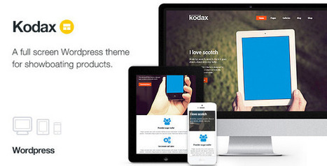 25 Premium Responsive landing page wordpress themes - DesignMain.com | Designmain.com - Design, Inspiration & Freebies | Scoop.it