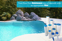 Turn Your Pool Maintenance into a Cakewalk with an Appropriate Filter | SWIMMING | Scoop.it