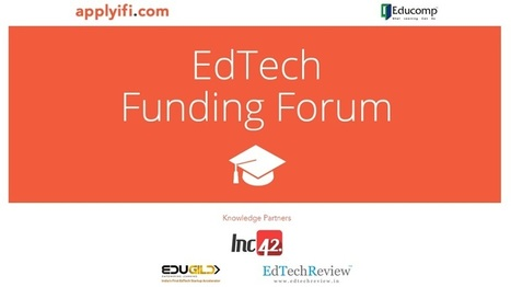 Applyifi and Educomp Launch Ed Tech Funding Forum, Partner with EdTechReview | EdTechReview | Scoop.it