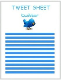 The Landscape: Twitter Tweet Sheet: Tips, Tricks, and Resources | Edtech PK-12 | Scoop.it
