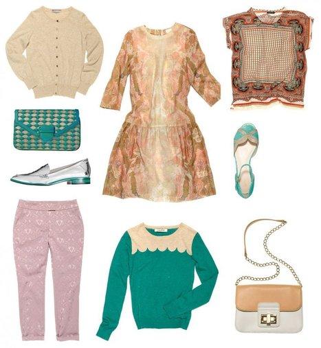 Le look sixties, tendance mode printemps-été 2013 | Conseils et astuces mode femme ronde | Scoop.it