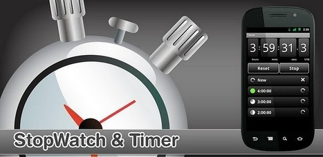 StopWatch & Timer - Android Market | Best of Android | Scoop.it