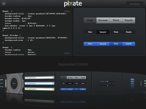 Pixate - use css in your ios App | Technology | Scoop.it