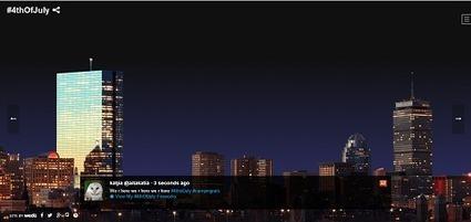 Agency Creates Twitter-Powered #4thofJuly Fireworks Display | Digital Marketing Ramblings | Scoop.it