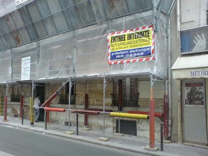 Bâches de chantier sur échafaudages : protection, sécurité, communication - Blog - Baches Direct Pro | bricolage-professionnels | Scoop.it