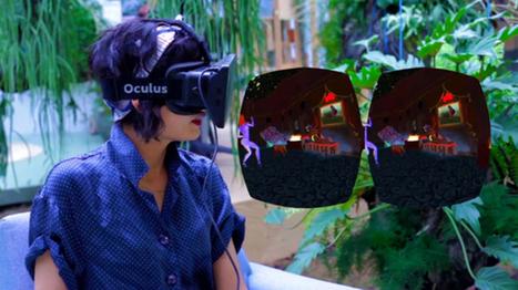 Clic France Article / Une première création virtuelle imaginée pour la technologie Oculus Rift | News Techno | Scoop.it