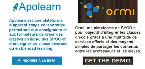 [PROMETTEUR] 2 outils numériques d'apprentissage collaboratif #EcoleNumerique #BYOD #classeinversée #blendedlearning | @apolearn @EXO_U | Les outils du numérique au service de la pédagogie | Scoop.it