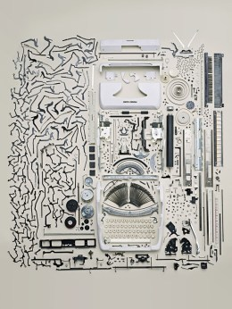 A Vintage Typewriter, Artfully Exploded | Art, Design & Technology | Scoop.it