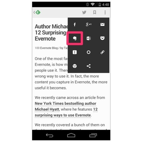 Organize Your Online Reading with Feedly and Evernote | Evernote | Scoop.it
