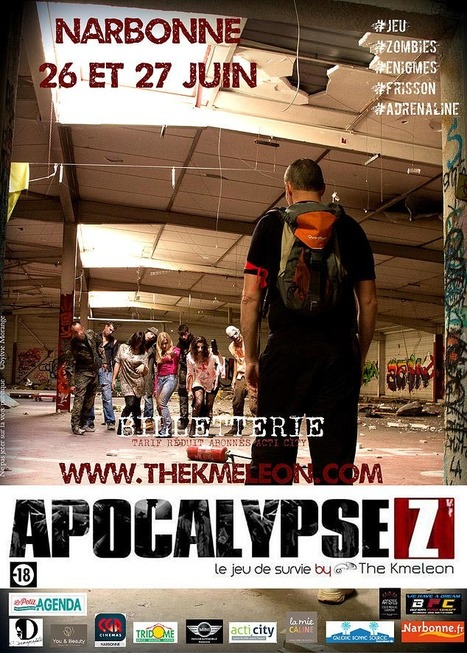 Apocalypse Z, ou comment échapper aux zombies! - ladepeche.fr | Grandeur Nature | Scoop.it