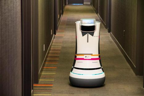 Robot Butlers Roll Into Action at Starwood Hotels - NBC News | leapmind | Scoop.it