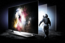 """LG's 55"""" OLED Television Is Thin As a Pencil and First to Market ... 