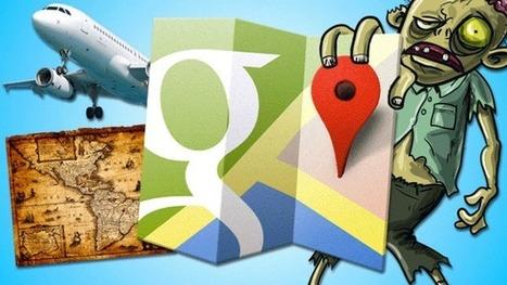 Los mapas más curiosos hechos con el motor de Google Maps - ComputerHoy.com   Aplicaciones TIC SF   Scoop.it