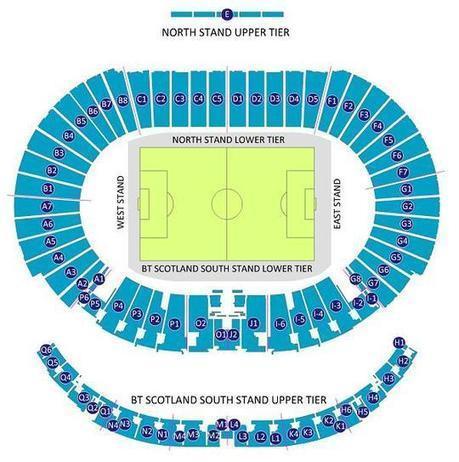 Hampden Park Seating Plan | Football Stadium Guides | Scoop.it
