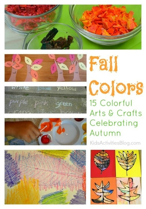 15 Colorful Activities Celebrating Fall Colors | Celebrate the Arts with Kids | Scoop.it