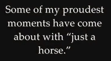"""When They Tell You, """"It's Just a Horse"""" 