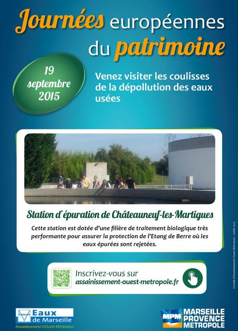 » CHATEAUNEUF LES MARTIGUES – Visites de la station d'épuration de Châteauneuf   Eaux de Marseille   Scoop.it
