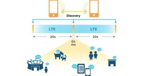 Le LTE Direct permet aux smartphones de rester connectés sans réseau | L'Atelier: Disruptive innovation | Smart Muni Cell - Smart Metro Cell - Municipal Wireless | Scoop.it