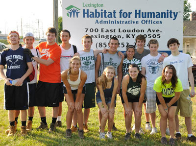 IB students in Kentucky for Habitat for Humanity | Notre Dame Preparatory School and Marist Academy | IB in the US | Scoop.it