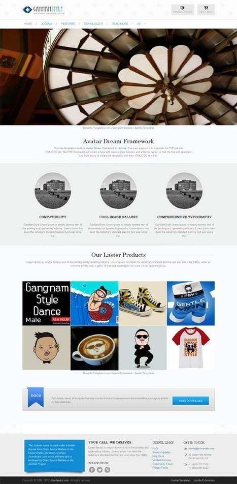 Avatar Gannam, Free Joomla Retina Portfolio Template | Premium Download | Premium Joomla Templates Download | Scoop.it