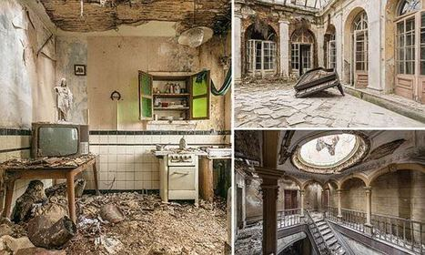 The hauntingly beautiful abandoned buildings where time stands still | Modern Ruins | Scoop.it