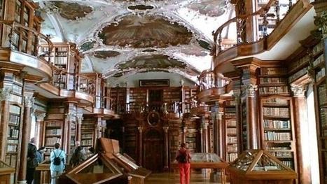 Les plus belles bibliothèques du monde   Edition en ligne & Diffusion   Scoop.it