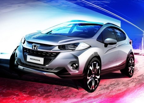 India Bound Honda WR-V Officially Rendered | Maxabout Cars | Scoop.it