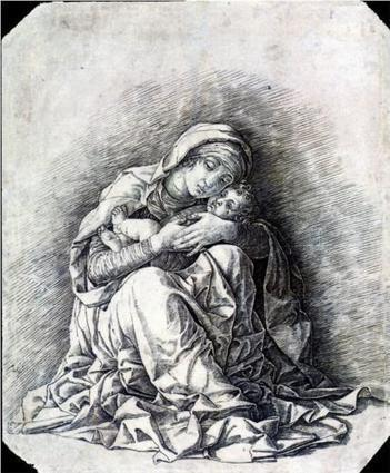 Virgin and Child (Madonna of Humility) - Andrea Mantegna - WikiPaintings.org | Contemplación | Scoop.it