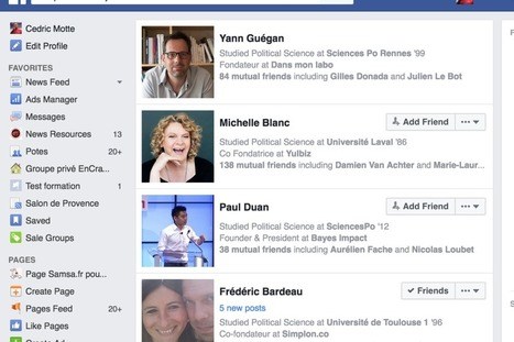 Facebook graph search : les bonnes requêtes pour journaliste | Formation multimedia | Scoop.it