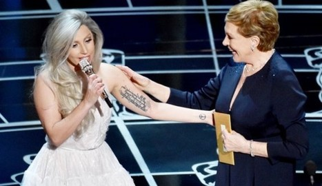Julie Andrews Celebrates 'Sound Of Music' With Lady Gaga: 'We Bonded And Now I Have A New Friend' [Video]   Albums, Artists, Christmas Music and Stuff   Scoop.it