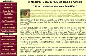 Natural Beauty &Self Image Article - How Love Makes You More Beautiful! | jessography | Scoop.it