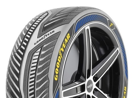 Goodyear Spherical Tyre- takes autonomous cars sideways into the future | Hydrogen powered cars | Scoop.it