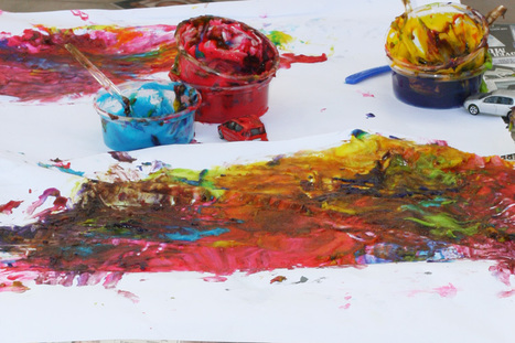 Benefits of Finger Painting   Teach Preschool   Scoop.it
