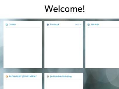 Welcome! | Hauke Jan Helmholz Frankfurt | Scoop.it