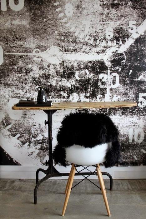 Scandinavian Industrial Interior| Woonblog my industrial interior | Raw and Real Interior Design | Scoop.it