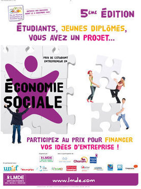 LMDE - Prix de l'Etudiant Entrepreneur en Economie Sociale | ESS et Education Populaire | Scoop.it