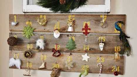 10 nápadov: Vytvorte si úžasne jednoduchý adventný kalendár takmer zadarmo! | domov.kormidlo.sk | Scoop.it